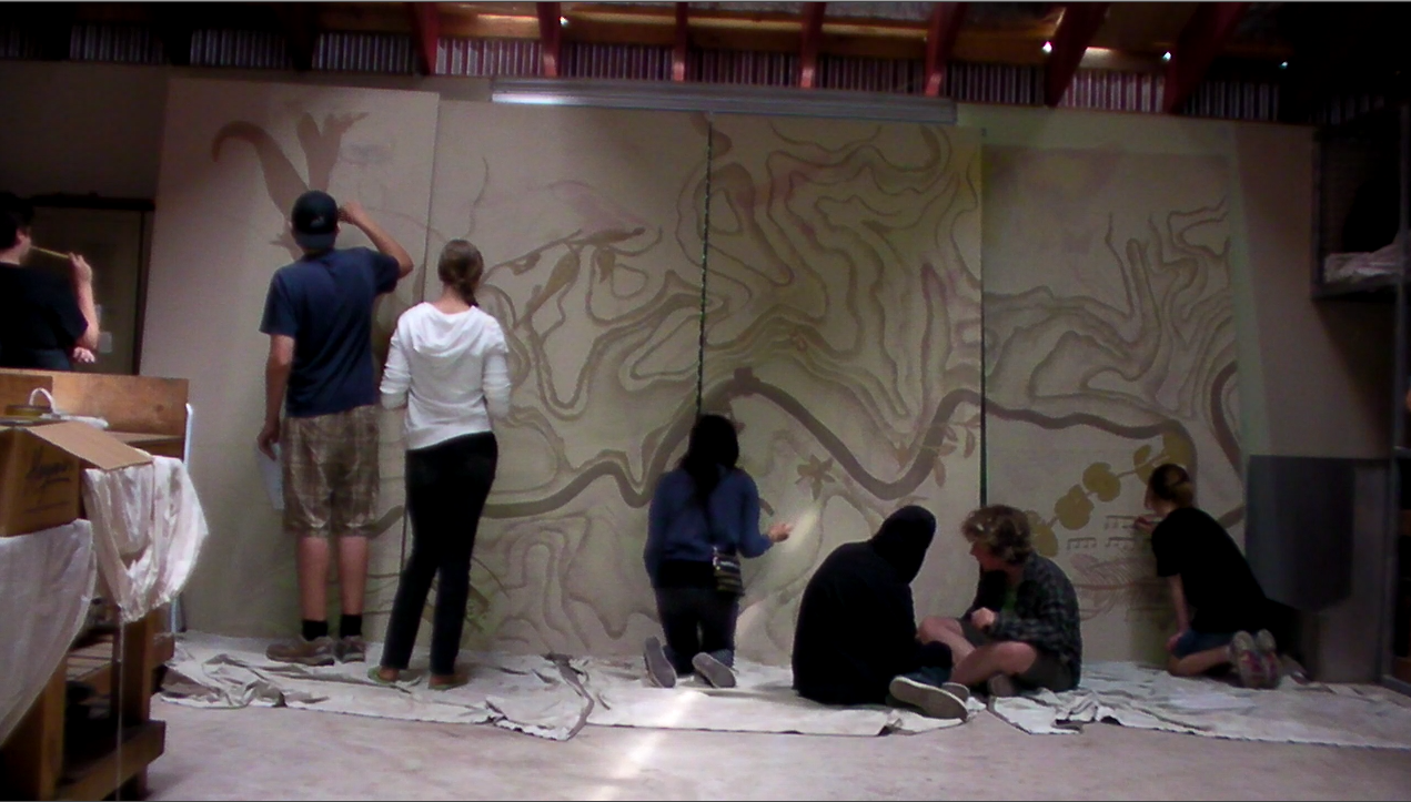 Symbiogenisis Project- Community workshops and mural.